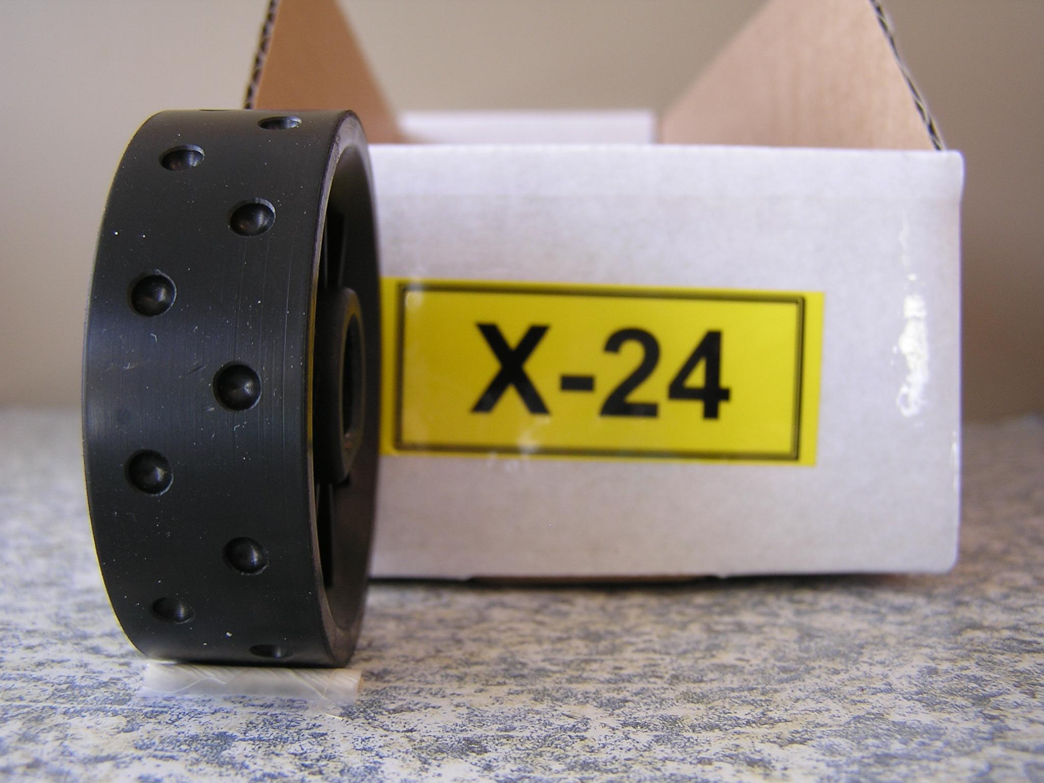 X-24 Roller for Jang Seeder, 4 mm Slot, 24 Slots on the Roller