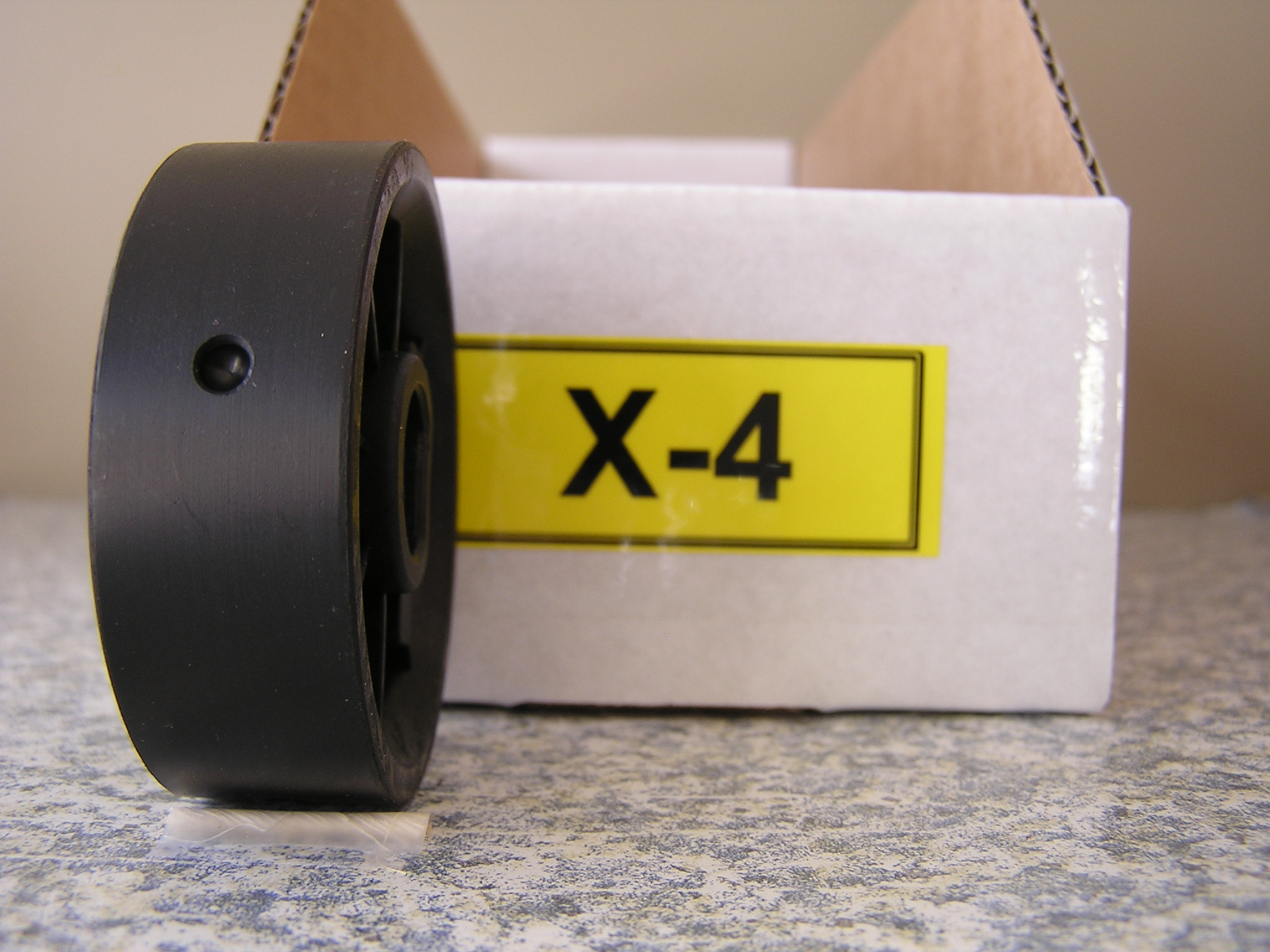 X-4 Roller for Jang Seeder, 4 mm Slot, 4 Slots on the Roller