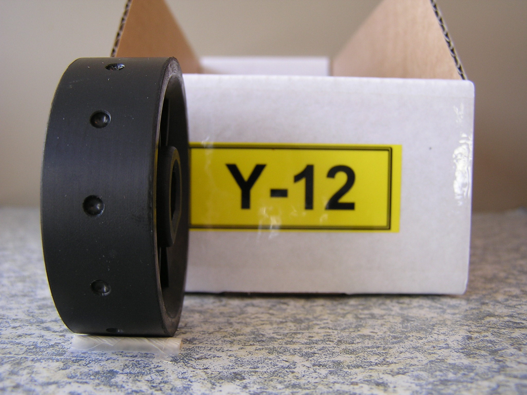 Y-12 Roller for Jang Seeder, 3.5 mm Slot, with 12 Slots on the Roller