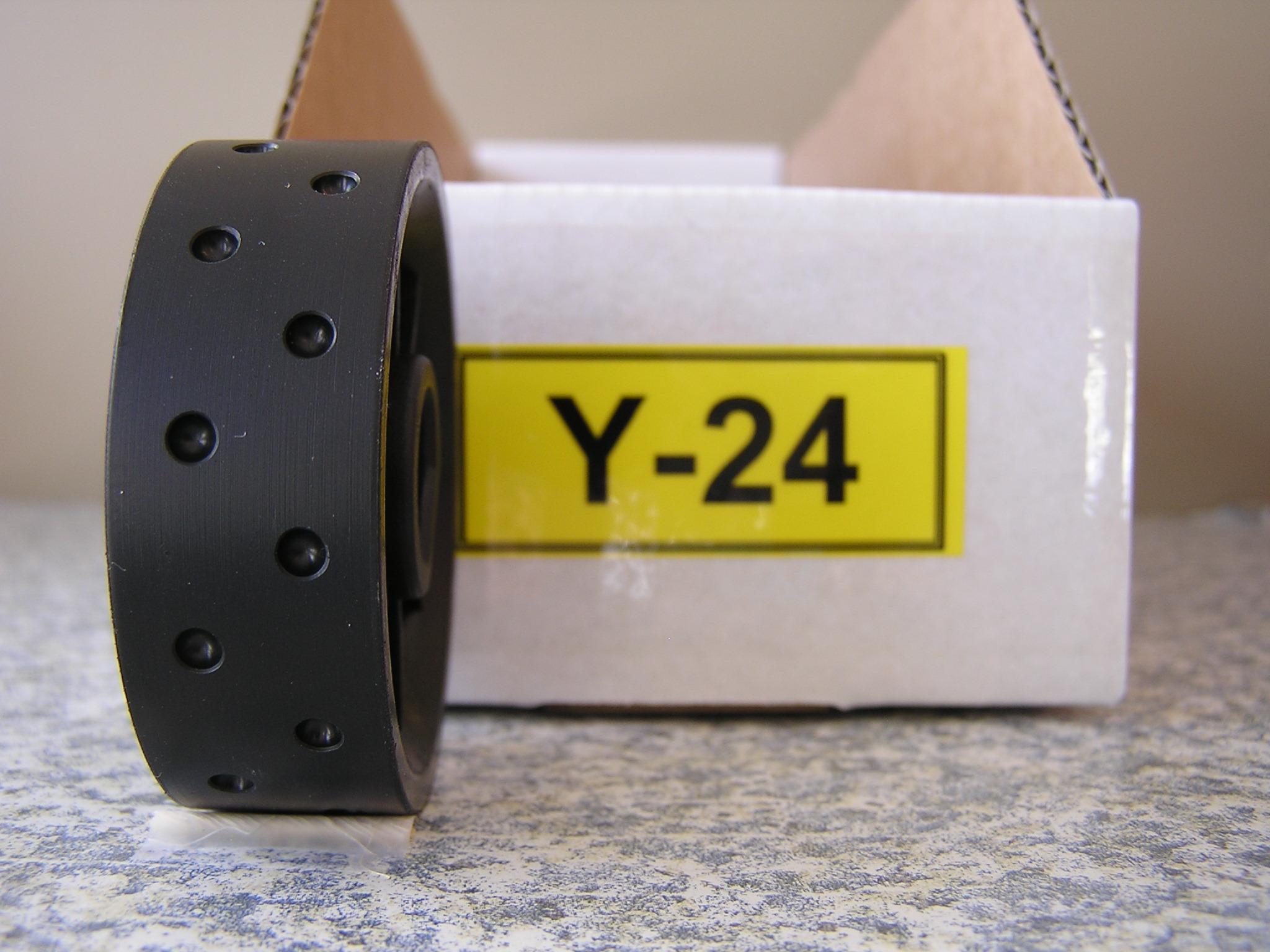 Y-24 Roller for Jang Seeder, 3.5 mm Slot, 24 Slots on the Roller