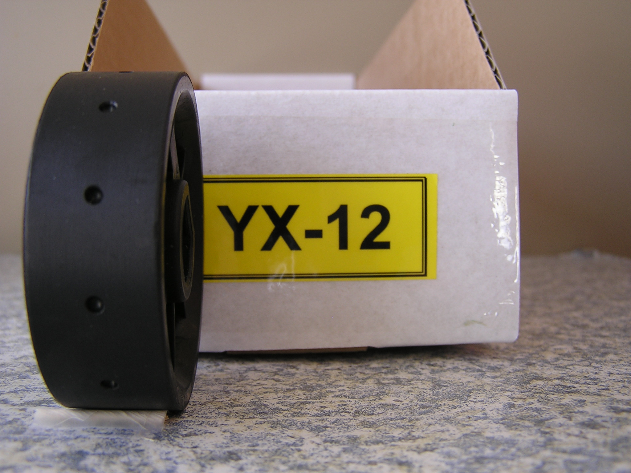 YX-12 Roller for Jang Seeder, 2.5 mm Slot, 12 Slots on the Roller