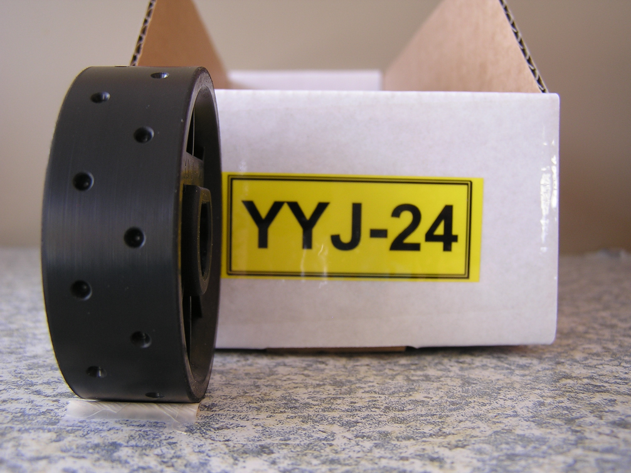 YYJ-24 Roller for Jang Seeder, 3 mm Slot, 24 Slots on the Rollers