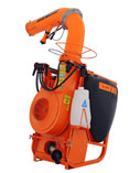 Jacto AJ401 Cannon Sprayer, 105 Gal. 3-Pt. Tractor Mount, 50 ft.