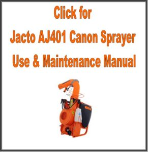 Jacto AJ401 Cannon Sprayer is Jacto's most cost effective