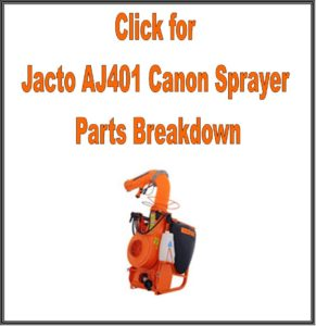 AJ401 Jacto Canon Sprayer Parts Manual