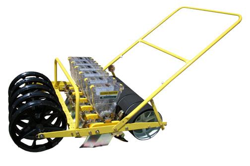 JP-6 Jang Seeder ~ A Walk Behind Hand Seeder That Singulates Seeds!