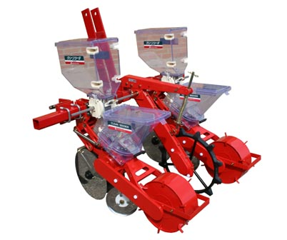 TDF-2 Toolbar Mounted Jang Seeder with Fertilizer System, 3 Pt. Hitch & Toolbar