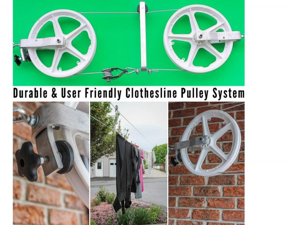 Amish Clothesline Pulley System