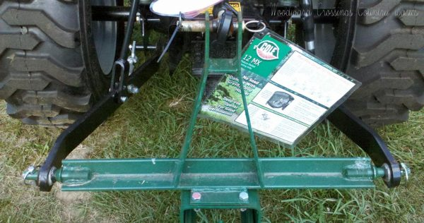 Cole 12 MX with B46-664A 3 Point Hitch