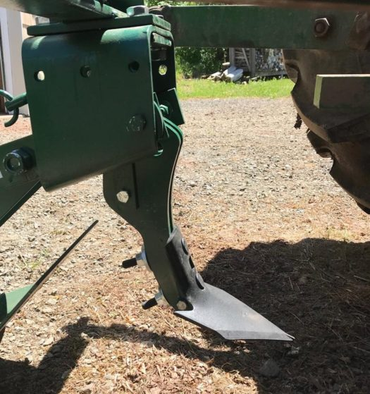 Cole 12MX with Opening Foot and Row Crop Sweep - Row Crop Sweep sold Separately