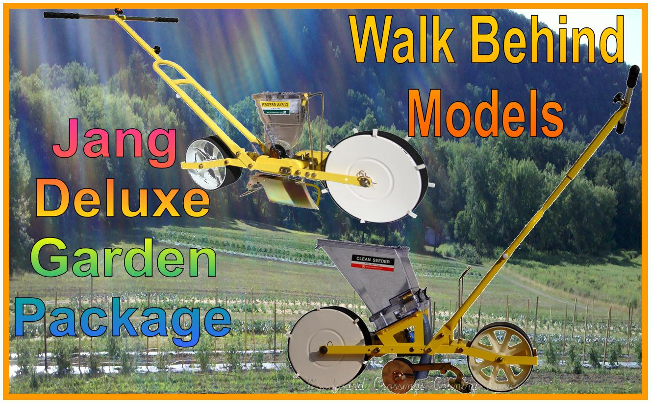 JP-1 & TD-1 Jang Seeder Bargain Bundle Deluxe Garden Package - Walk Behind Planters