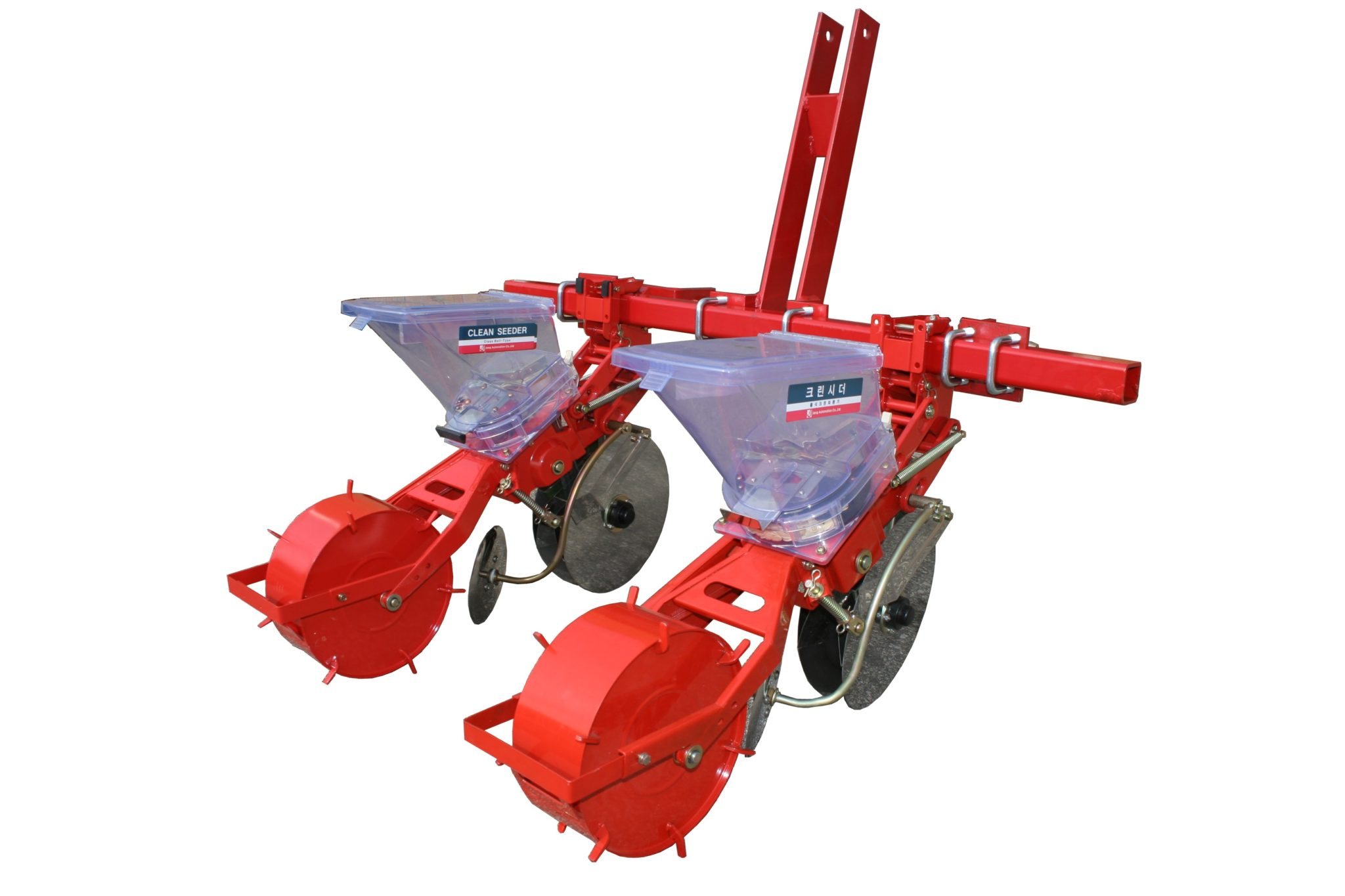 TDR-2 Jang 3 Pt. Hitch Seeder for Larger Seeds