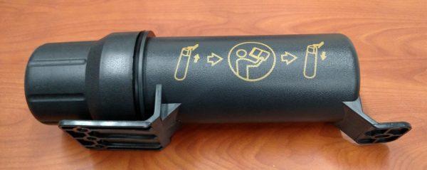 """Large Manual Holder / Tool Tube / Canister, Neoprene Seal, 12"""" x 3-1/4"""""""