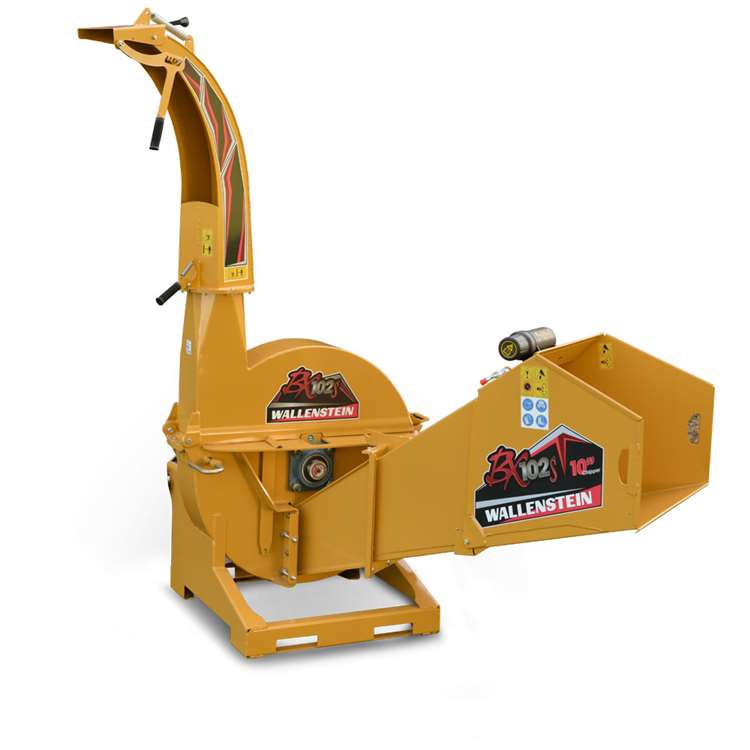 Wallenstein BX102s PTO Woodchipper