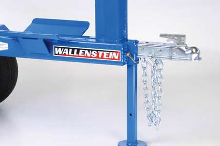 Wallenstein WX Log Splitter Ball Hitch and Safety Chains