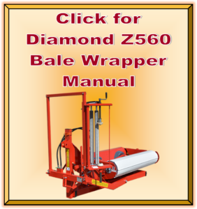 Click for Diamond Z560 Bale Wrapper Manual