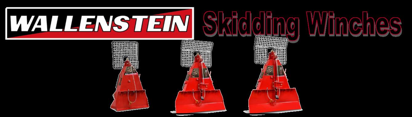 Wallenstein Skidding Winches