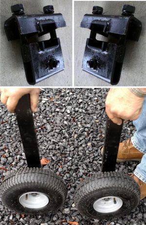 Gauge Wheel Set w/ Clamps
