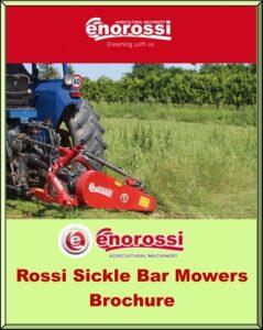 Rossi Sickle Bar Mower Brochure