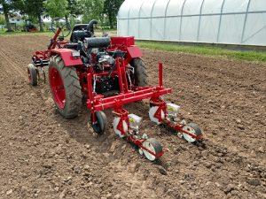 Jang JPH-2 on Terry Miller's Oggun Tractor at Miller Organics