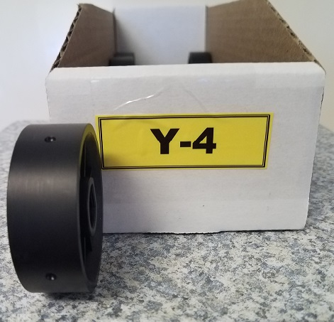 Y-4 Roller for Jang Seeder, 3.5 mm Slot, 4 Slots on Roller
