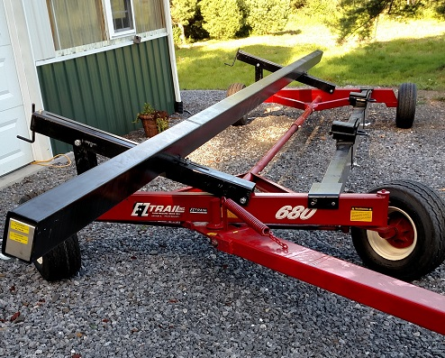 EZ Trail 26' Head Hauler with 680 Gear