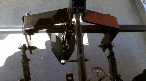 Wunderbar Potato Plow Bundle with 3 Pt. Hitch and Toolbar