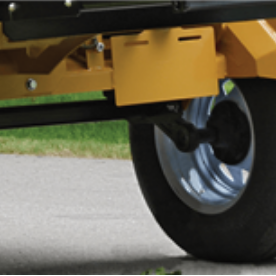 Wallenstein Wood Processor Torflex Suspension Axle