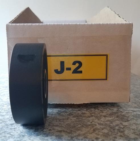 J-2 Roller for Jang Seeder, 12.4 mm Depth, 2 Thumbnail Shaped Slots