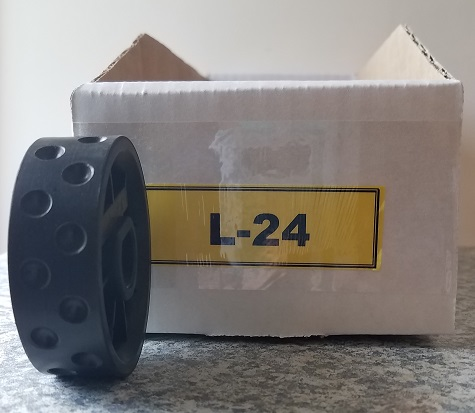L-24 Roller for Jang Seeder, 7 mm, Hole Depth 2.5mm, Shape: Ball Type