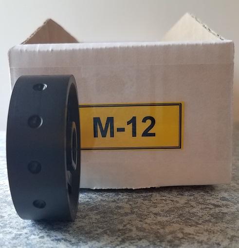 M-12 Roller for Jang Seeder,  Exterior Diameter 5 mm, Hole Depth 2.0 mm