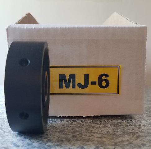 MJ-6 Roller for Jang Seeder, Exterior Diameter 6 mm, Hole Depth 3.5 mm
