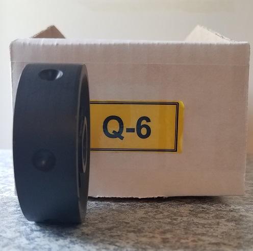 Q-6 Roller for Jang Seeder, Exterior Diameter 8 mm, Hole Depth 3.0 mm