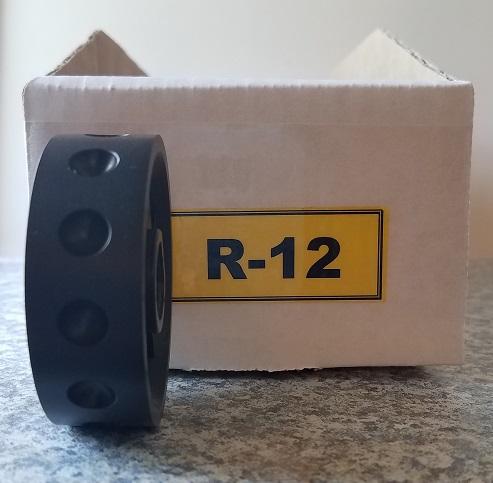 R-12 Roller for Jang Seeder   Exterior Diameter 9 mm, Hole Depth 3.5 mm