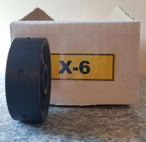 X-6 Roller for Jang Seeder, Exterior Diameter 4 mm, Hole Depth 2.0 mm
