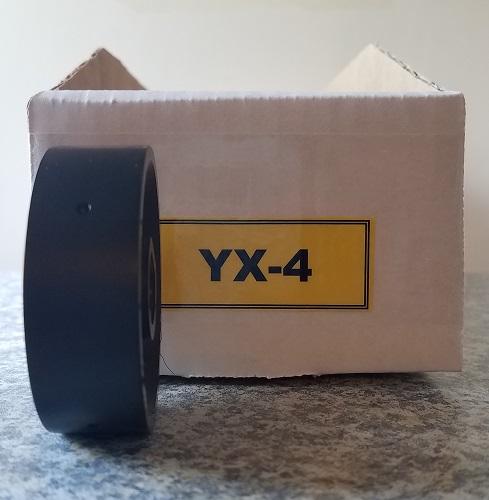 YX-4 Roller for Jang Seeder, Exterior Diameter 2.5 mm, Hole Depth 1.5 mm