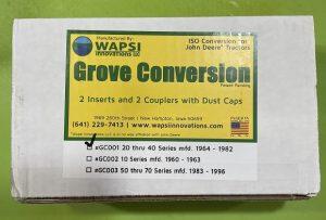 Wapsi Grove ISO Conversion Kit for John Deere 20, 30, 40 Series Tractors