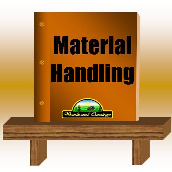 Material Handling PDF for Woodward Crossings