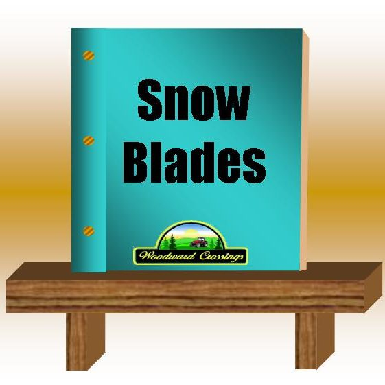 Snow Blades PDF for Woodward Crossings